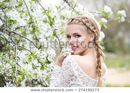 Portrait of young blonde with braid Stock photo © photography33