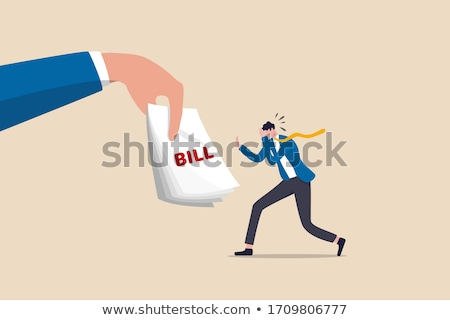 Mortgage headache concept Stock photo © stevanovicigor