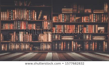 library background Stock photo © jonnysek