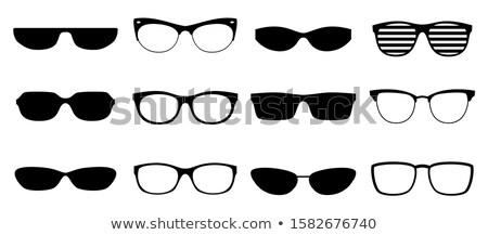 Különböző napszemüveg izolált fehér nap egészség Stock fotó © DeCe