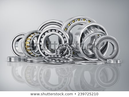 Ball bearing isolated on white background Stock photo © shutswis