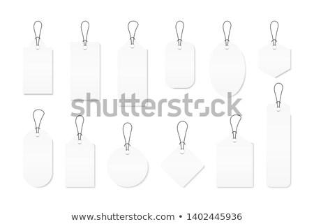 ciąg · papieru · łuk · brązowy - zdjęcia stock © shutswis