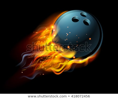 Bowling potere pin luce energia Foto d'archivio © Lightsource