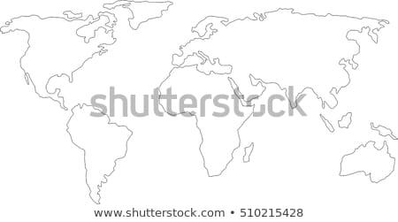 Dünya haritası dünya harita iş dünya Stok fotoğraf © ronfromyork