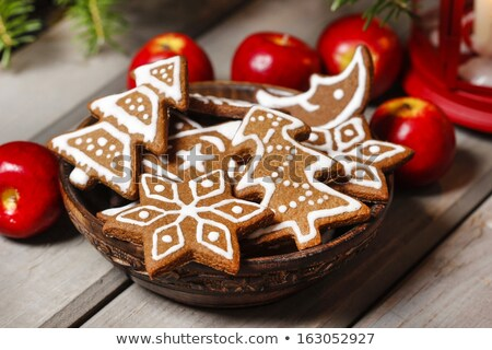 Navidad cookies nostálgico punteado papel cuadro Foto stock © Rob_Stark