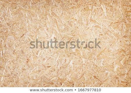 partícula · bordo · pieza · blanco · madera · fondo - foto stock © mtmmarek