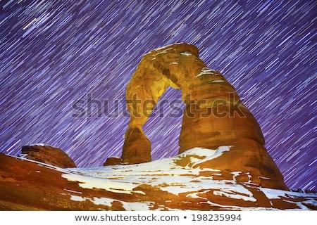 ív · park · Utah · USA · égbolt · tájkép - stock fotó © jfgelinas