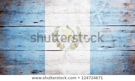 Gwatemala banderą struktura drewna ściany charakter tle Zdjęcia stock © pinkblue