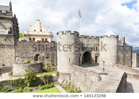 Castelo escócia arquitetura europa medieval ao ar livre Foto stock © phbcz