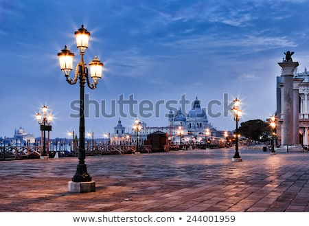 street lamps in venice stock photo © jeancliclac