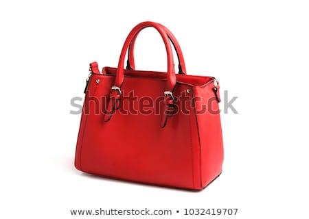 Bevásárlószatyor divat háttér űr jókedv piros Stock fotó © oly5