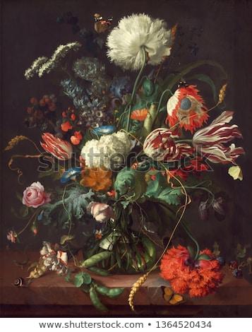 красивой · Розовые · розы · ваза · изолированный · белый · природы - Сток-фото © smuay