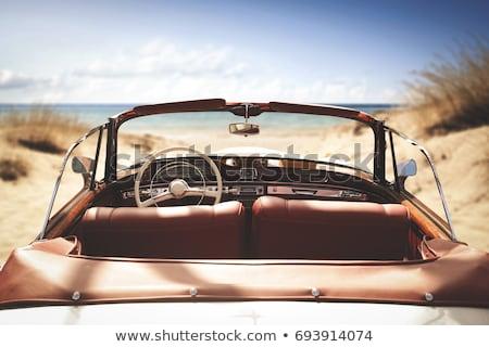 retro car interior stock photo © nejron