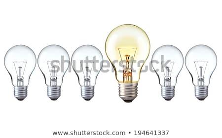 çevirmek kalem düşünce gece elektrik Stok fotoğraf © wittaya