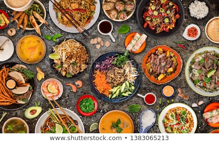 asia food stock photo © m-studio