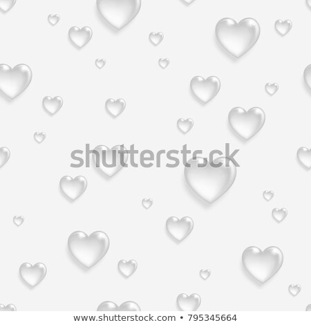 love hearts 3d fade Stock photo © nicemonkey