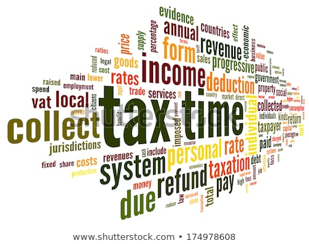 Kelime bulutu vergi iş hukuk finanse hizmetleri Stok fotoğraf © master_art