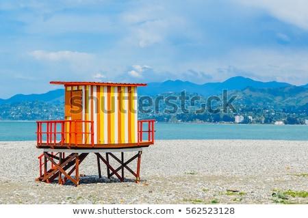 Batumi beach, Georgia Stock photo © joyr