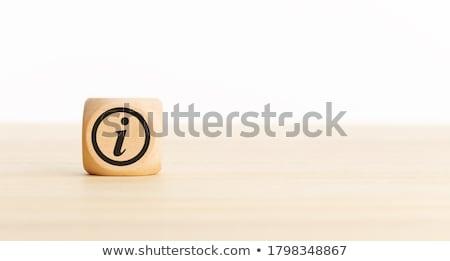 Info wiadomość kopercie komputera technologii klawiatury Zdjęcia stock © fuzzbones0