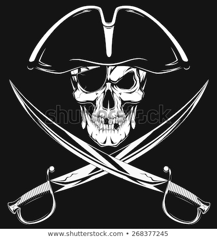 Jolly Roger gold Stock photo © Supertrooper