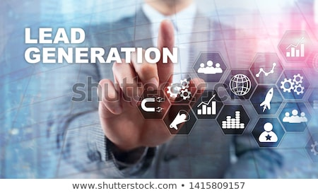 Lead Generation Business Funnel Concept Stock photo © ivelin