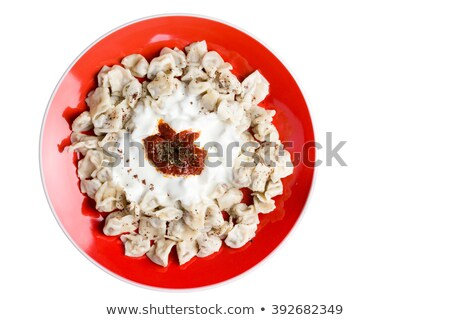 eigengemaakt · Grieks · yoghurt · twee · keramische - stockfoto © ozgur