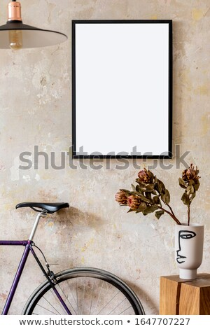 Bike retro album pagina photo album photo frame Foto d'archivio © FOTOYOU
