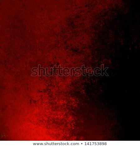 folleto · rojo · negro · pintura · fondos · negocios - foto stock © sdmix