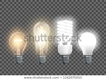 ランプ · アイデア · 実例 · ビジネス · 分析的な · ノートパソコン - ストックフォト © kali