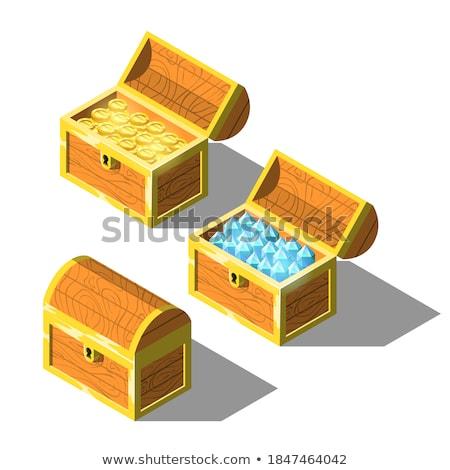 isometric diamonds Stock photo © AnatolyM
