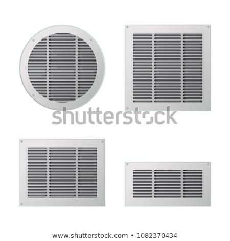 空気 ベント 壁 ファン サークル カバー ストックフォト © magraphics
