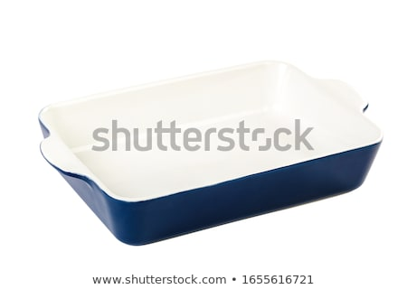 pottery casserole dish Stock photo © Digifoodstock