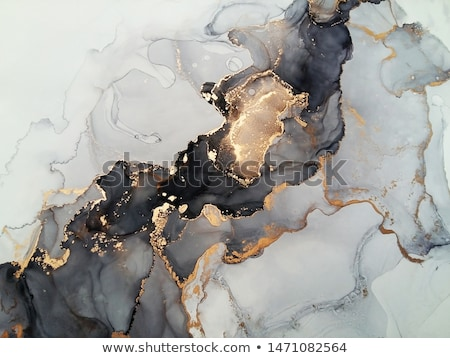 colorful abstract background with metallic waves stock photo © saicle