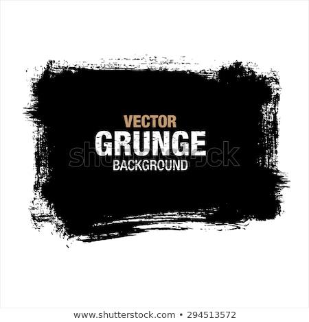 Absztrakt sötét száraz ecsetvonások fal grunge textúra Stock fotó © stevanovicigor