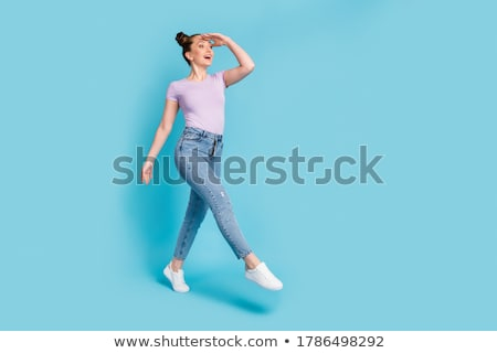 Stock photo: Girl Sees Women Shoes