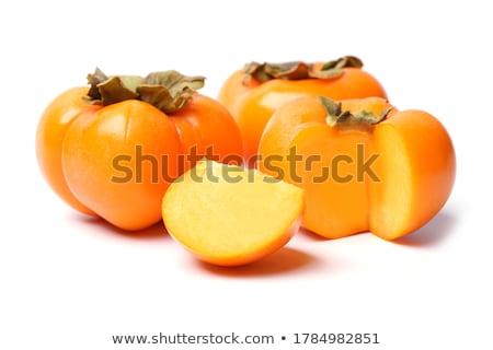 Foto stock: Frescos · maduro · aislado · blanco · frutas · fondo
