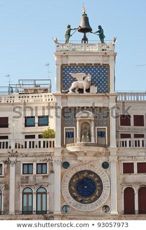 Clock tower San Marco Stock photo © Givaga