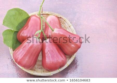 olgun · meyve · yalıtılmış · gıda · palmiye · kırmızı - stok fotoğraf © ungpaoman
