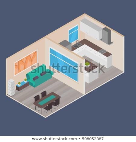 inmobiliario · acuerdo · vector · agente · clave - foto stock © tarikvision