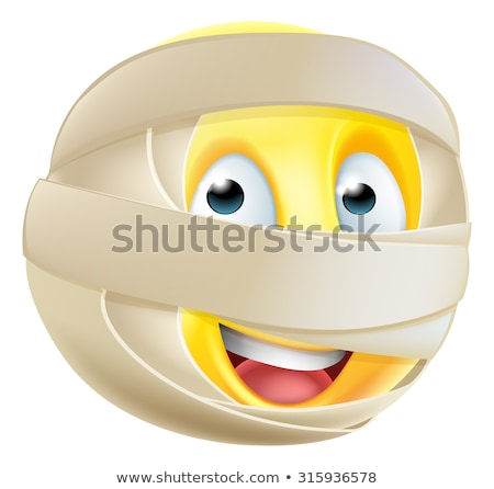 Mummy emoticon Stock photo © yayayoyo