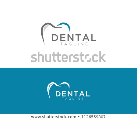 Beautiful dental background, tooth symbol Stock photo © Tefi