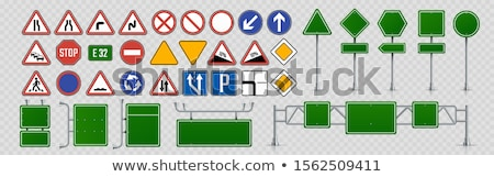 Set of signboards Stock photo © colematt
