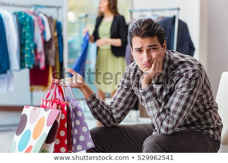 Marido mirando esposa feliz Foto stock © AndreyPopov