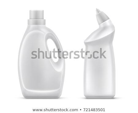 Blank Bleach Plastic Bottle With Handle Vector Stock photo © pikepicture