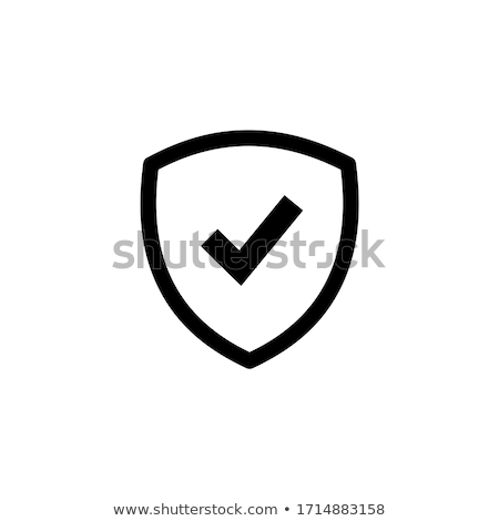Check Mark related vector glyph icon. Stock photo © smoki