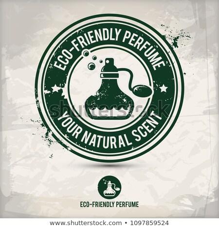 alternatief · milieuvriendelijk · parfum · stempel · geluid · motieven - stockfoto © szsz