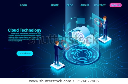 global internet cloud networking vector sign icon stock photo © pikepicture