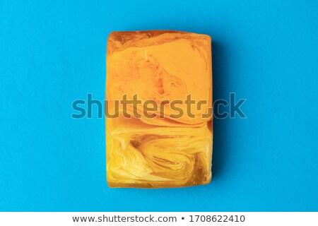 Soap bar close-up view Stock photo © dariazu
