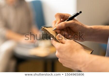 jeunes · méconnaissable · affaires · professionnels - photo stock © pressmaster