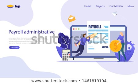 Calculate the income tax and other tax related documents stock photo © johnkwan